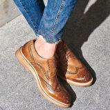 Мужчины из натуральной кожи крупного рогатого скота платья обувь