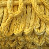 Cuerda resistente de la amarradura de Hmpe de 12 hilos
