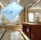 Fregadero de cerámica de Undermount del lavabo de lavado del rectángulo estándar americano