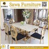 Исключительная домашняя таблица стула нержавеющей стали мебели
