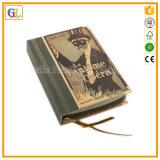 رفاهية سميك غلاف صلب كتاب مقدّس كتاب طباعة مع نوع ذهب يختم