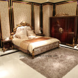 Pittura e parti antiche di lusso italiane di lucentezza di legno solido 0063 l'alte hanno coperto il guardaroba della stagnola di oro
