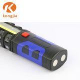 極度の明るい穂軸16の安全ハンマーが付いている赤灯LED磁気作業ランプ