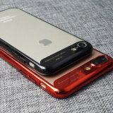 360 градусов гальванизируя iPhone 6/7/8 аргументы за сотового телефона TPU