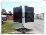 Gemaakt in de Moderne Aanhangwagens van de Hotdog van de Vrachtwagens van de Catering van het Roomijs Qingdao Internationale Standaard