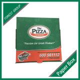 خداع حارّ يغضّن بيتزا صندوق مع عادة حجم