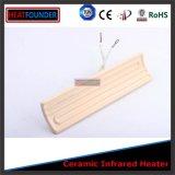 Высокая температура сопротивление керамические инфракрасные обогреватели элемент (245x60мм)