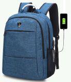 Nuovo sacchetto del calcolatore per problemi commerciali dell'adolescente dello zaino del computer portatile della carica del USB 2018
