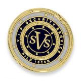 Значки годовщины круглой формы покрынные золотом (XDBG-285)