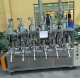 Semiautomáticos cola de silicone vedante isento de pregos máquina de enchimento