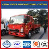 Lichte Pick-up van de Vrachtwagen van de Lading van de Vrachtwagen van Sinotruk 4X2 de Lichte 3t Lichte