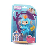 工場卸し売り情報処理機能をもったクリスマスの昇進のギフトの対話型のスマートな子供のおもちゃ猿のFingerlings