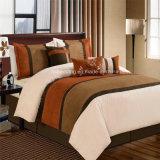 Casa/hotel/insieme dell'assestamento della rappezzatura del Comforter del ricamo uso di cerimonia nuziale poli