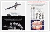 Machine de microdermabrasion de diamant d'infusion de l'oxygène de peau d'Aqua