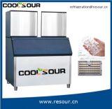 El cubo de hielo de la buena calidad de Coolsour trabaja a máquina la cafetería