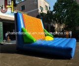 Lustige Outddor 5X5m aufblasbare Stock-Flausch-Wand für Verkauf