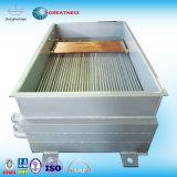 В салоне охладителя ОГ на сырой воды на гуманное обращение со стороны 0.1мм запеченная на пластмассовую облицовку.