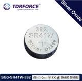 1.55V China silberne Oxid-Tasten-Zellen-Batterie für Uhr (SG12/SR43W)