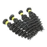 Do volume indiano do cabelo de Remy do Virgin tecelagem de seda do cabelo reto