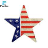 Star façonné drapeau américain Épinglette patriotique