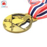 Het Schermen van de Winnaar van de douane de Vervaardiging van de Medaille