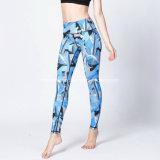 2017 pantaloni sexy su ordinazione di yoga delle ghette delle nuove migliori donne strette di vendita di forma fisica all'ingrosso