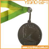 Medaglia di oro del premio di abitudine 3D con il nastro (YB-MD-53)
