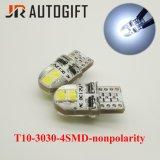T10 LED Birne W5w 3030 4 SMD Nonpolarity Auto-Abstand-Licht