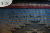 Borgoña 100% poliéster suave y excelente sofá tejidos por 230 gramos