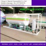 5000-12000liters GLP LPGの液体のガスの貯蔵タンクの充填機