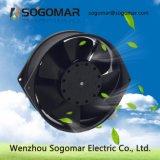 (SFM15755)冷却のための銀製か黒い金属の刃AC軸ファン