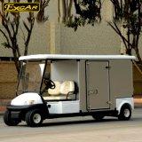 2 carros ambientais da companhia de eletricidade dos assentos