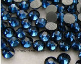 A obscuridade de venda quente a mais nova - pedra quente azul de Preciosa da cópia do Rhinestone do reparo (classe HF-Escura de blue/5A)