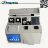 Автоматический тестер кисловочного значения масла трансформатора топлива метода извлечения
