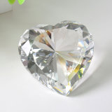 Diamante di cristallo del cuore libero per il regalo