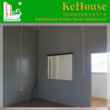 Construcción de viviendas prefabricada de acero de la luz del bajo costo