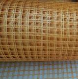 10mm× сетка 10mm желтым усиленная стеклянным волокном для бетона