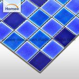 Venta caliente resistente al agua azul Baldosa mosaico de azulejos Piscina