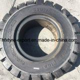 단단한 타이어 3.00-15 250-15 진보적인 상표 Industral 타이어 포크리프트 타이어