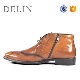 Los nuevos hechos a mano barata prepárate para los hombres zapatos casuales de cuero