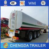 3 Aanhangwagen van de Tanker van het Water van het Roestvrij staal van de Tank van het Voedsel van de as de Vloeibare