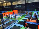 꿈나라 공장 농구를 가진 상업적인 성숙한 Trampoline 공원 또는 운동장