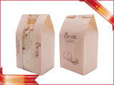 Коробка упаковки подарка коробки еды конфеты напечатанная тортом