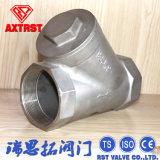 Tipo valvola di ritenuta di modo Y dell'acciaio inossidabile 2