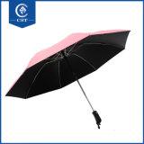 Omgekeerde Paraplu's van de Manier van het Ontwerp van de Verkoop van de douane de Grote Materiële Bulk Nieuwe