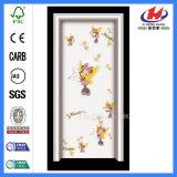 内部PVC木のドアを折るプラスチック