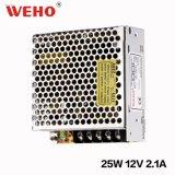 WehoのセリウムのRoHS公認25W 12Vの電源