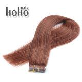 Virgin Brown del commercio all'ingrosso di 100% estensioni dei capelli del nastro da 20 pollici
