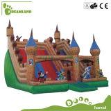 巨大な跳躍の城膨脹可能な水スライド