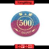 결정 Acrylic /실크 스크린 카지노 칩 (YM-CP005)를 청동색으로 만드는 부지깽이 칩 메시